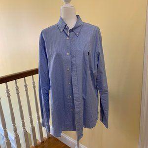 NWOT Ralph Lauren Button Down Shirt XL